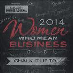 Women Who Mean Business: Honorees