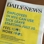 The surprising number of fines under NYC's new paid sick leave law