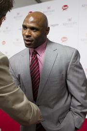 University of Louisville football coach Charlie Strong spoke with reporters on the red carpet.