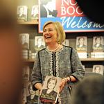 Scenes from a Hillary Clinton book signing (Slideshow)