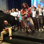 500 Startups Demo Day: 7 favorites from an unusually musical batch — plus a kick