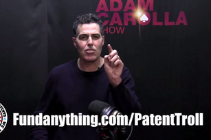 Did Adam Carolla cave in what could have been an epic patent troll battle?