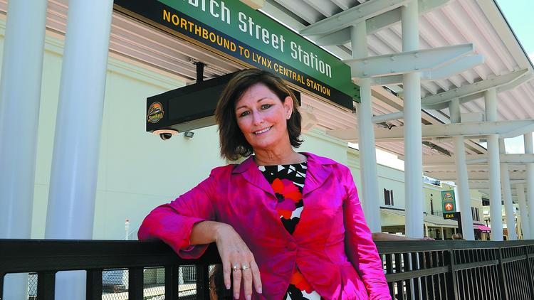 Noranne Downs, secretary of the Florida Department of Transportation District 5