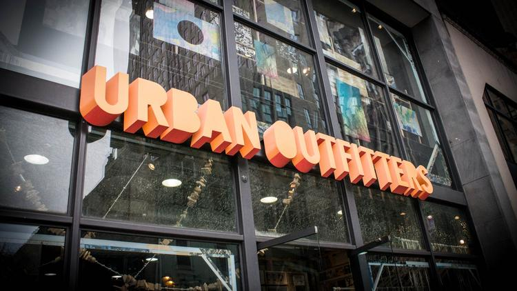 Urban Outfitters is a Philadelphia-based retailer, and it's got a big following in Europe.