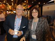 Bill Denby and Michelle Clark of Valley Forge Bolt Mfg. Co. in Phoenix