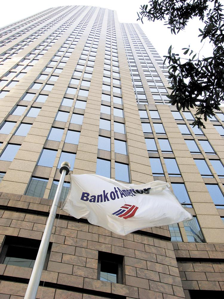 BofA is based in uptown Charlotte.