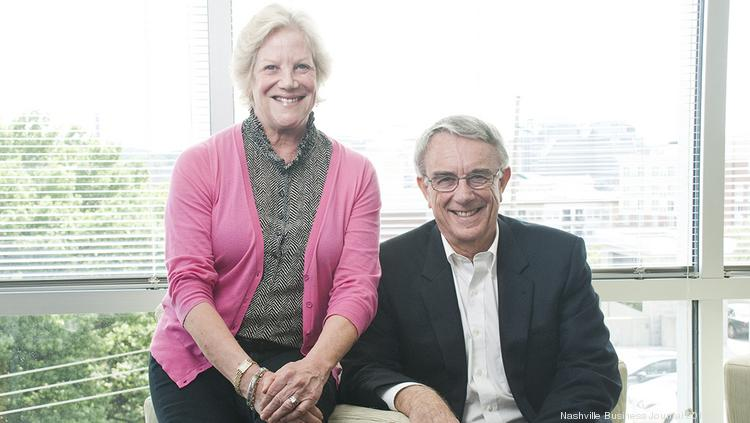 NuSirt Biopharma COO Barbara Cannon, left, and President and Executive Chariman Joe Cook Jr. hope to help build the life sciences sector in Nashville's health care scene.