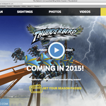 Local web design agency is behind Holiday World's new website, Thunderbird launch