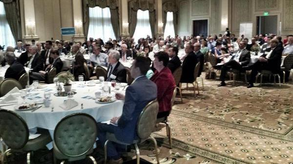 More than 200 people were in attendance at the Tomorrow's Real Estate event hosted by Triangle Business Journal.