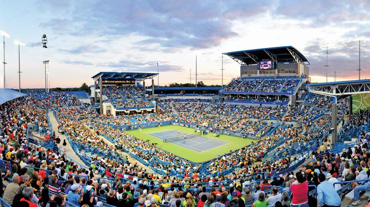 A record-breaking number of fans poured through the gates at this year's Western & Southern Open tennis tournament.