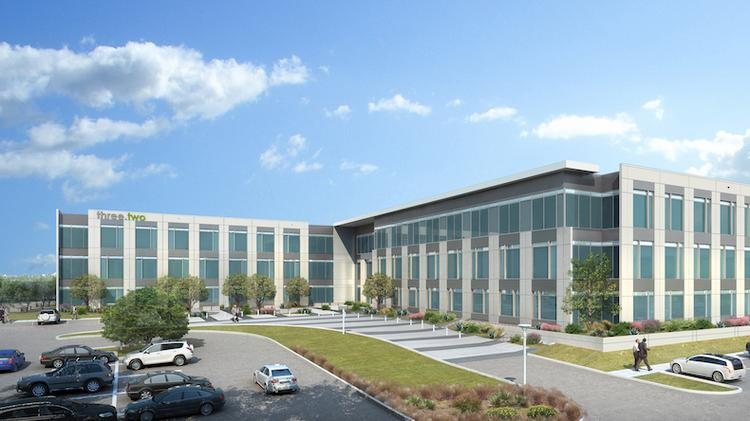Karlin Real Estate in collaboration with Trammell Crow Co. broke ground this week on Parmer 3.2, a large Class A office building, which is just the start of a massive master-planned commercial project in North Austin.