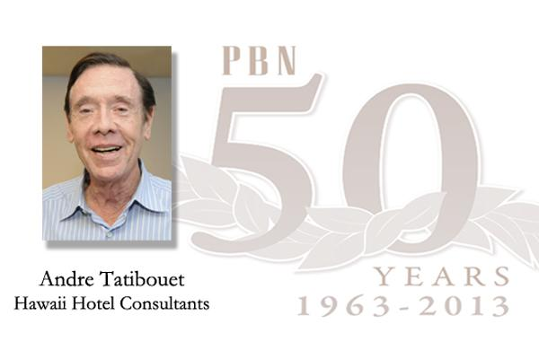 Andre Tatibouet is the CEO and principal of Hawaii Hotel Consultants LLC