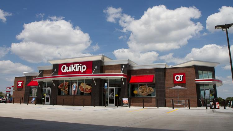 The new QuikTrip store at 37th and Rock will open on Friday.