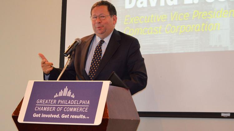 Comcast executive (and former Chamber of Commerce chairman) David L. Cohen discusses the organization's new initiative to reach out early to potential mayoral candidates.