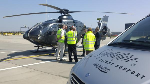 Signature Flight Support >> Signature Flight Support To Handle Helicopter Traffic Into London