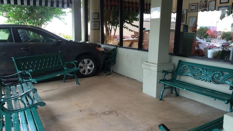 That's one way to create a drive-thru!