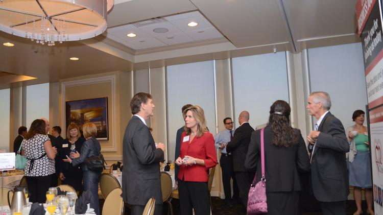 Orlando Business Journal held its first Business of Technology panel at The Citrus Club on Aug. 1. As with all OBJ events, guests arrived early for the networking opportunities.