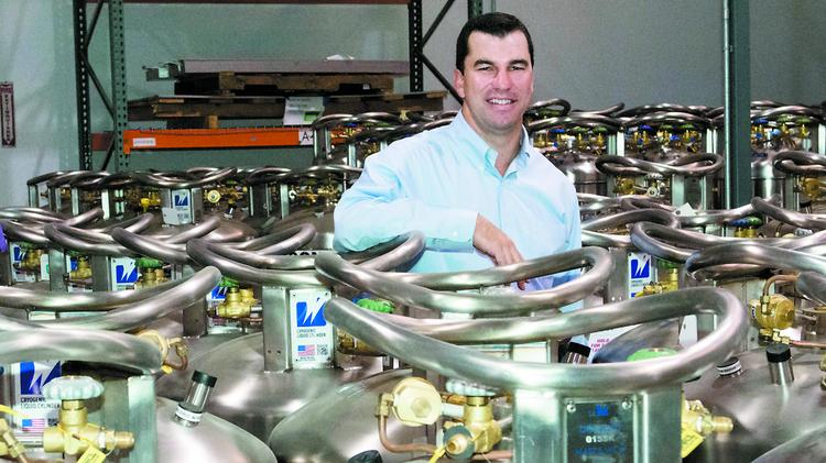 Sean Murray thinks cryogenics will be a big contributor for Worthington in the coming decades.