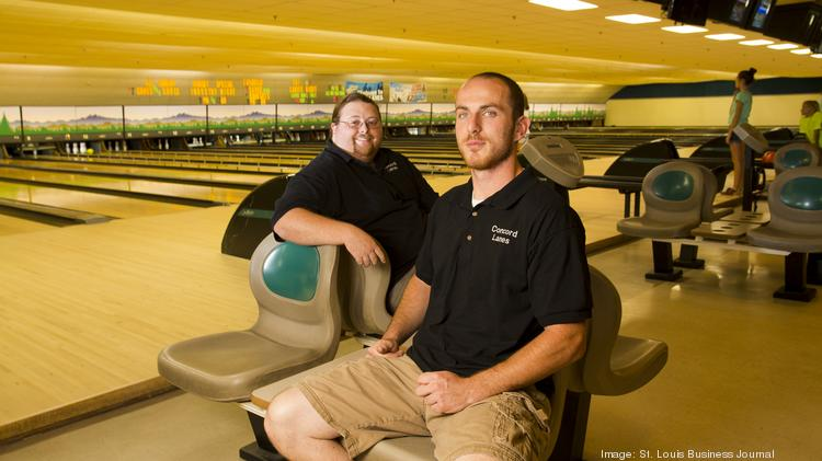 Concord Lanes Co-Owners Dan Beaman (left) and Devin Hohbein