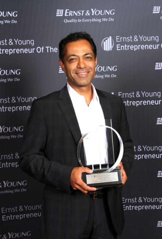 Jai Shekhawat was one of the 2012 Ernst & Young Entrepreneurs of the Year Award winners in the Midwest region.