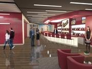 This rendering shows the inside of the new Western Health Advantage Legacy Club planned at Raley Field. The 5,000-square-foot private club space overlooking left field will be ready for Sacramento River Cats games in 2015.