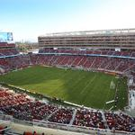 Prop. 45 booster takes aim at Dignity Health over sponsorship of Levi's Stadium