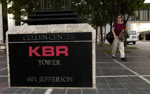 The U.S. government is suing Houston-based KBR Inc. and two foreign companies over alleged kickbacks and false claims.