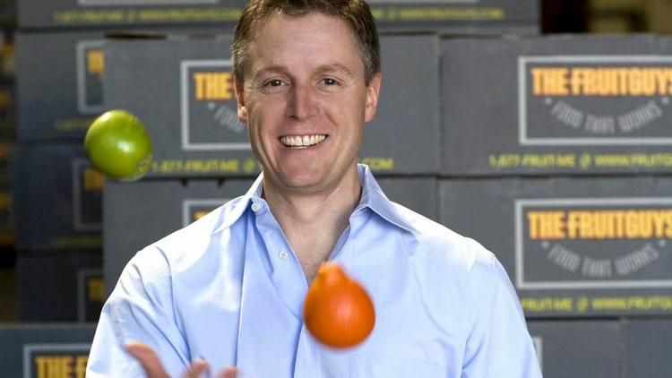 Chris Mittelstaedt is the founder of The FruitGuys, based in San Francisco.