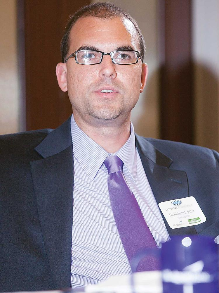 Hamburg Superintendent Richard Jetter admitted to lying in a police report filed in May.