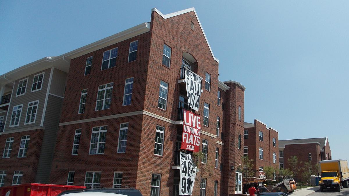 Norwich Flats Student Housing Complex Set To Open By Ohio State Columbus Business First