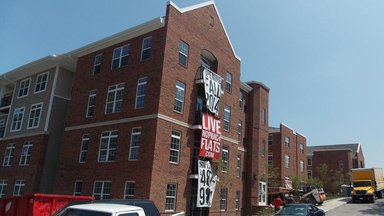 The Norwich Flats Apartment Complex By Ohio State University Is Scheduled To Be Ready In Time