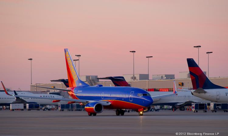 Southwest Airlines Co. reported a record third-quarter profit.