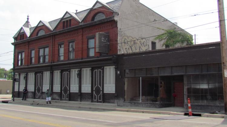 An investor is restoring an Oregon District building at 521 Wayne Ave. with plans for residential and retail uses.