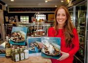"""Chef and author Jenn Crovato recently began a book-signing tour for her new cookbook, """"Olive Oil, Sea Salt & Pepper,"""" and made a stop at the Organic Butcher in McLean on April 20."""