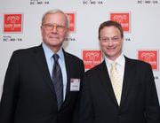 Easter Seals held its Advocacy Awards presentation on April 16 at the Grand Hyatt in in D.C.. The organization honored broadcast journalist Tom Brokaw, left, actor Gary Sinise and Citigroup for contributions to the military, veterans and their families.