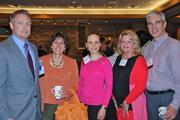 From left, Rob Franklin of MorganFranklin, Kathy Albarado of Helios HR, Yulia Pitenko of Right&Above, Leah Levy of LGL Event Management and Steve Britt of Leach Travell Britt.