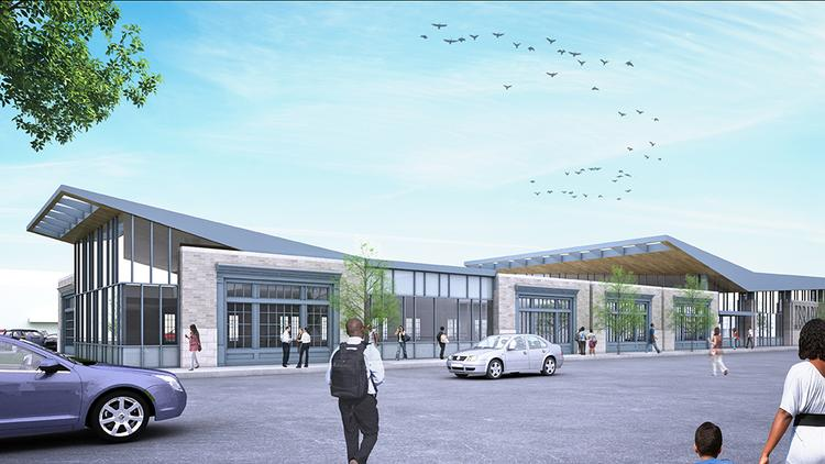 The Columbus library's new 20,000-square-foot Parsons branch will be nearly three times the size of the existing 7,600-square-foot branch at 845 Parsons Ave.