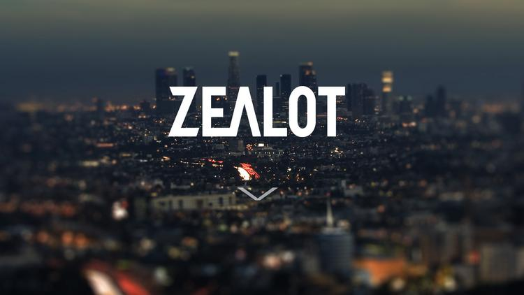 Venice-based Zealot is a digital media company and accelerator for creative entrepreneurs and talent offering revenue, distribution and growth across multiple platforms.