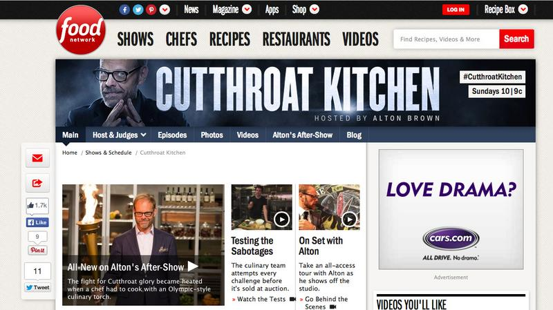 cutthroat kitchen website
