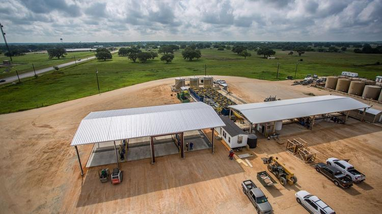 Petro Waste Environmental, operator of this disposal facility in Cuero, plans to develop a $5 million landfill in DeWitt County to process nonhazardous solid oilfield waste.