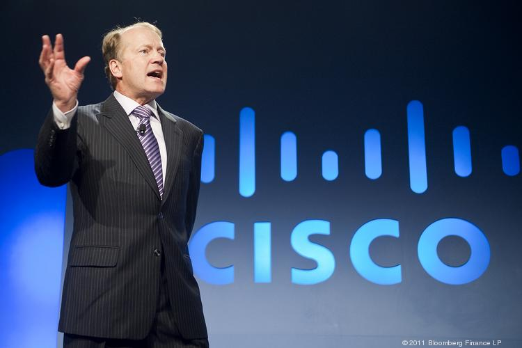 Cisco announced earnings that beat analyst estimates