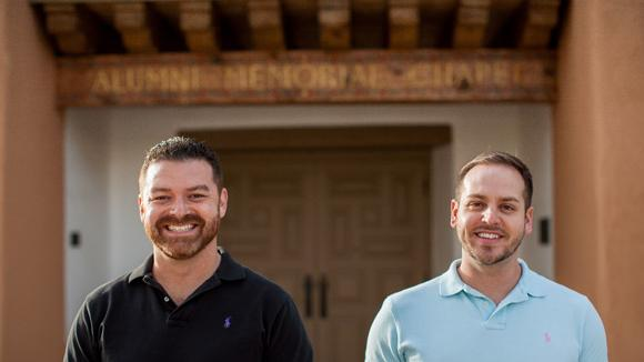 Eric Garcia (left) and Tony Lopez (right) recently launched Epiphany Advertising & Marketing in Albuquerque.
