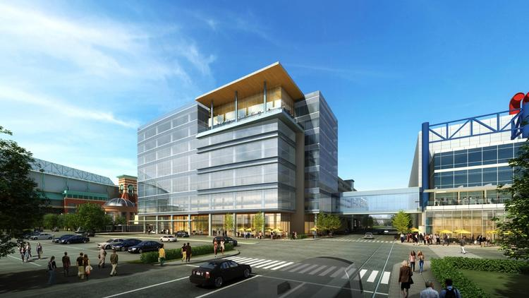 The organization will occupy space in a building being built near the George R. Brown Convention Center.