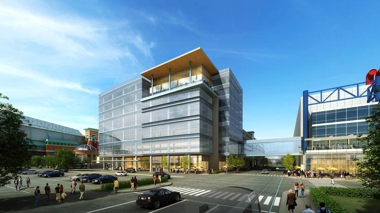 Shortly after announcing this new downtown headquarters for multiple Houston organizations, Houston First Corp. has proposed doubling that building with the addition of a hotel as the demand for rooms near the convention center increases.