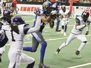With average attendance easily exceeding 8,000 fans per game, the Portland Thunder scored an operational touchdown during its first season.