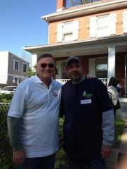Over the weekend of April 27, Rebuilding Together Alexandria and more than 700 volunteers took part in National Rebuilding Day. Rebuilding Together Alexandria volunteers Sean McEnearney of McEnearney Associates Realtors and Mark Kohler of KohlMark Group helped repair an Alexandria home.