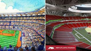 Which new Atlanta stadium excites you the most?