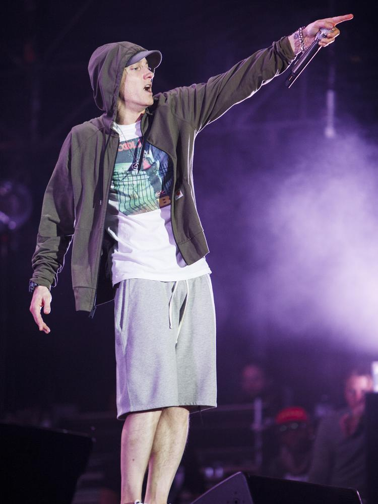 Rapper Eminem was a headliner attraction at the 2014 Lollapalooza. But he wasn't the only one making headlines.
