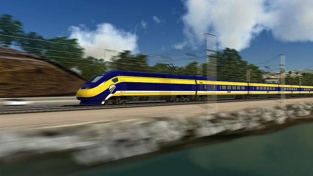 Private investors are starting to express interest in funding part of California's planned high-speed rail line, giving a boost to the $68 billion project.