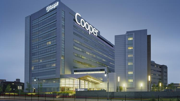 Cooper University Hospital is opening two more patient-care floors at its Robert Pavilion on Aug. 11